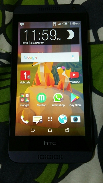 Used HTC 610- with accessories (used) in Dubai, UAE