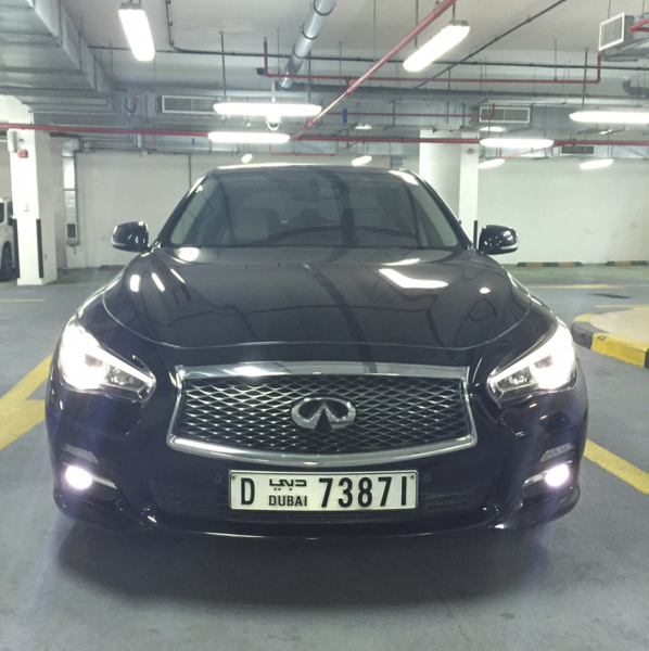 Used Infinity Q50 2.0T V4. Unlimited Warranty With Free Service For 90000km in Dubai, UAE