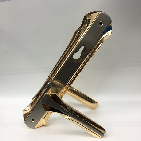 Used Door handles ZINC rose gold in Dubai, UAE