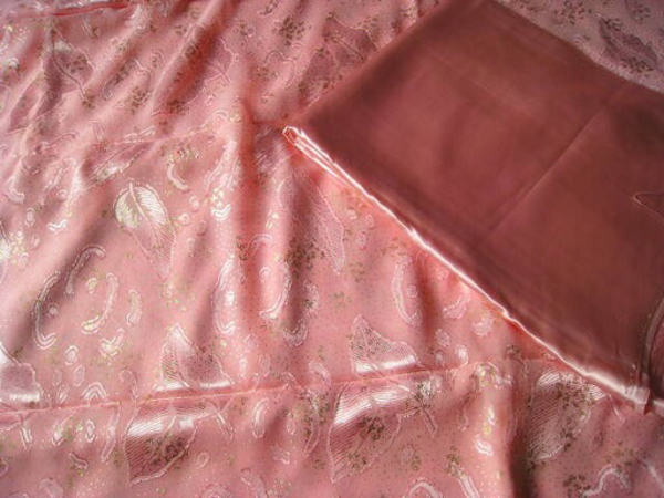 Used Pink Chiffon with Satin Lining in Dubai, UAE