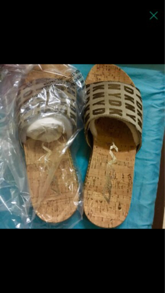 Used Authentic DKNY sandals for Women in Dubai, UAE