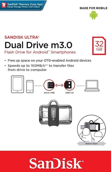 Used SanDisk 32gb dual USB.. in Dubai, UAE