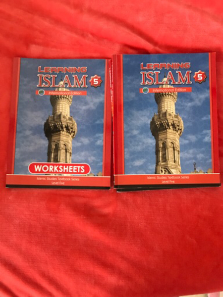 Used Islam studies level 5 book & work book in Dubai, UAE