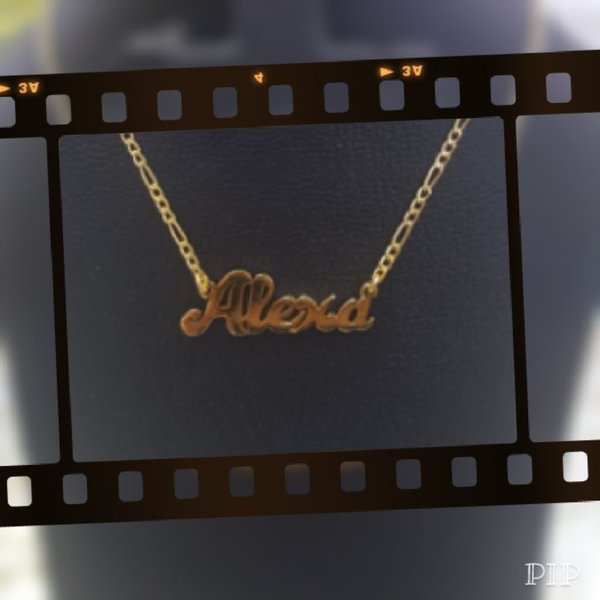 Used Personalized Gold Necklace in Dubai, UAE