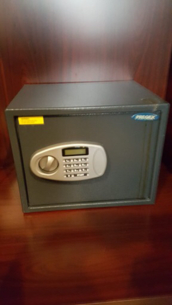 Used Pregex Electronic Safe with LCD Player in Dubai, UAE