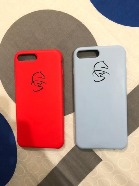 Used 3 IPHONE 8+ AND 7+ COVER in Dubai, UAE