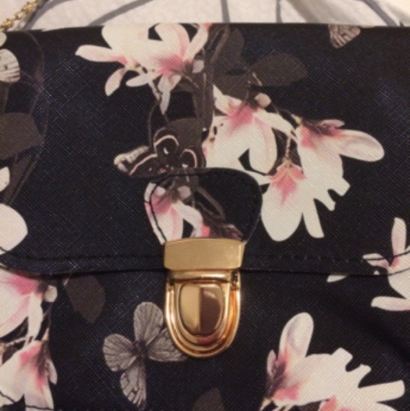 Brand New #Floral#Printed#bag.