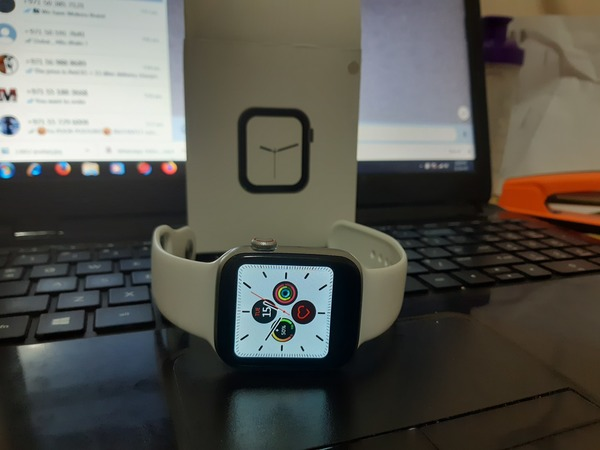 Used W34 ANDROID SMART WATCH CALLING FEATURES in Dubai, UAE