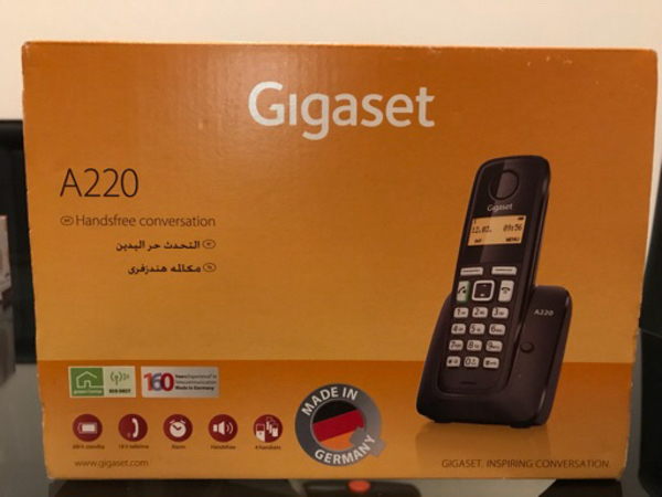 Used Gigaset A220. Cordless. Brand New. in Dubai, UAE