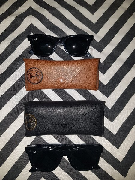 Used for sale or exchange 2 Ray.Ban wayferer in Dubai, UAE