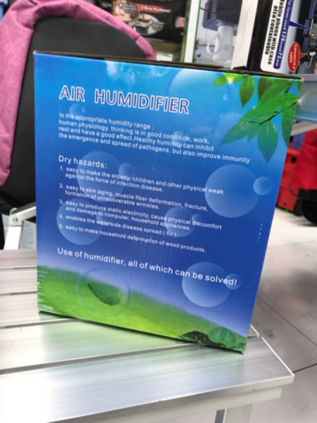 Air humidifier 3ltr