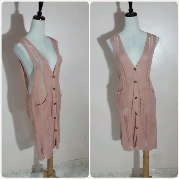 Used Peach long top for LADIES in Dubai, UAE