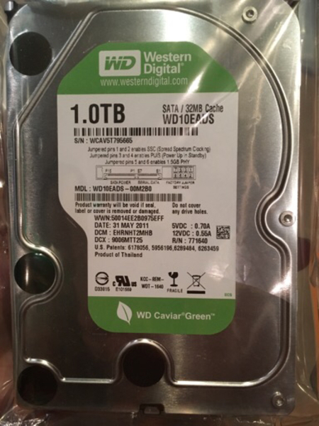 Used Wd 1 tb internal hdd in Dubai, UAE