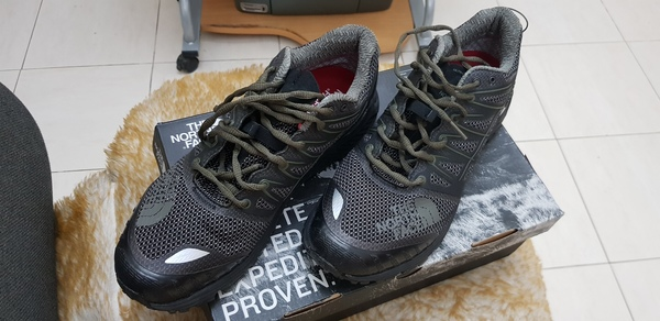 Used The north face waterproof shoes in Dubai, UAE
