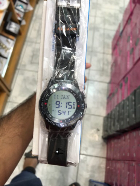 Used World prayer time watch in Dubai, UAE