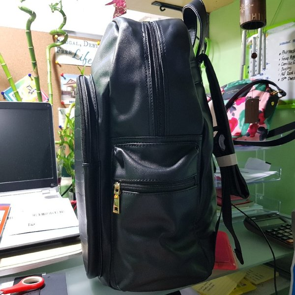Used LEATHER BACK PACK BIG SIZE in Dubai, UAE