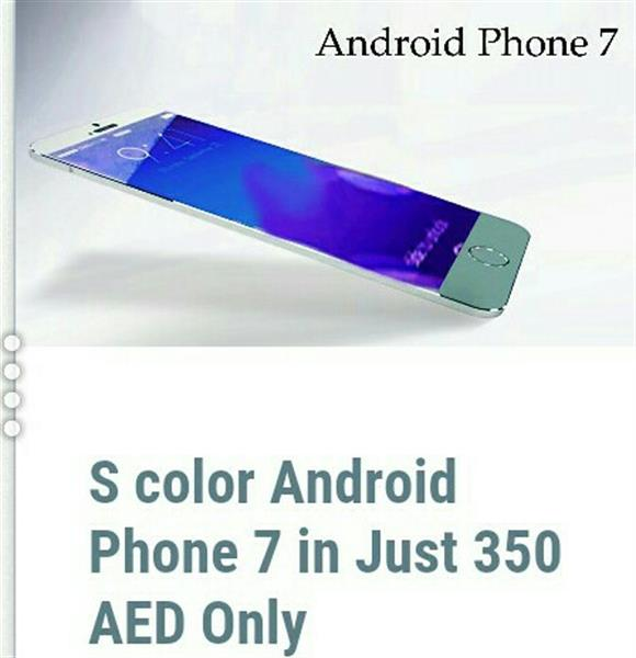 Used S-color Android Phone 7( Internal32 GB Card Support,8 GB internal, 1 GB) in Dubai, UAE