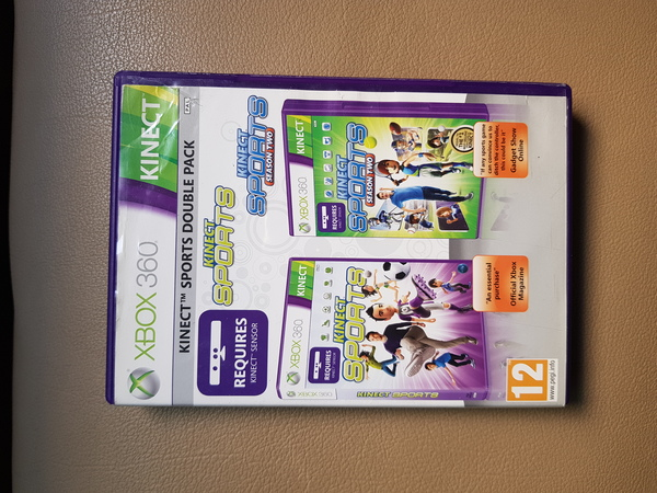 Used Kinect sports double pack for xbox 360 in Dubai, UAE