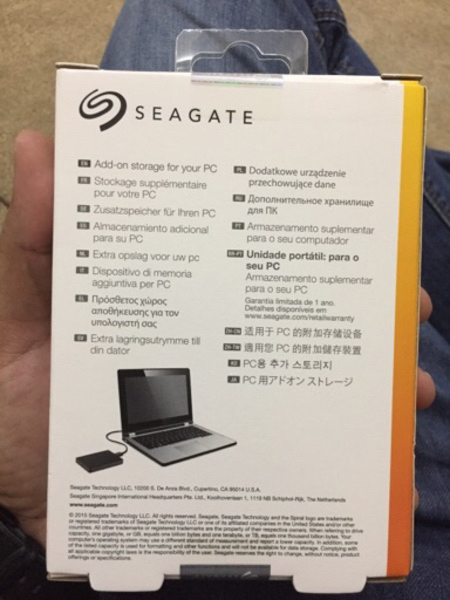 Used Seagate 1TB Expansion Hard Drive-USB 3.0 in Dubai, UAE