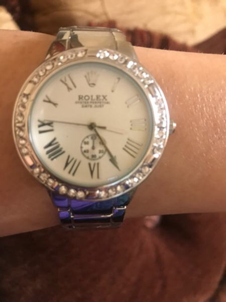 Used Silver Rolex watch  in Dubai, UAE