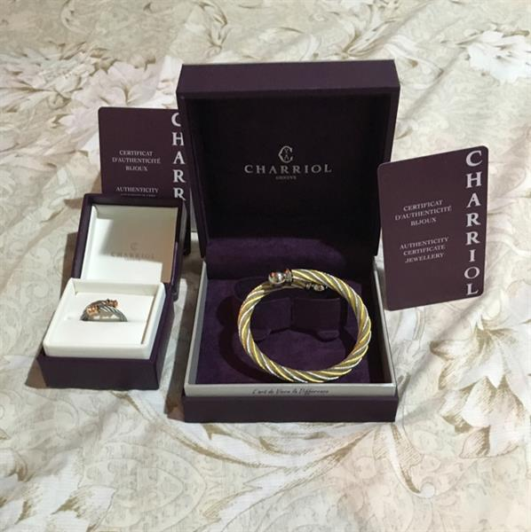 Used charriol authentic ring and bangle send me whatsapp 0527828970 in Dubai, UAE