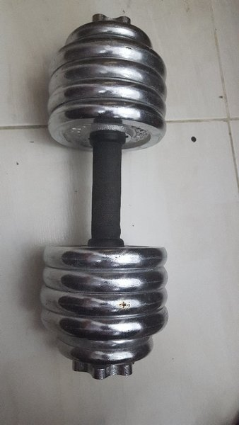 Used Dumbell 17kg in Dubai, UAE