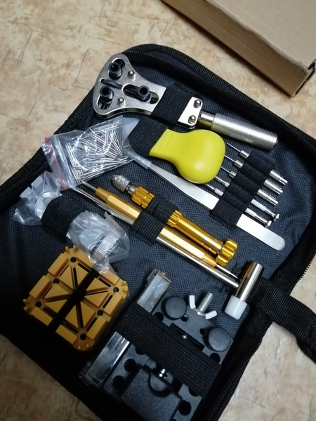 Used Watch ⌚ Repairing tools Set in Dubai, UAE