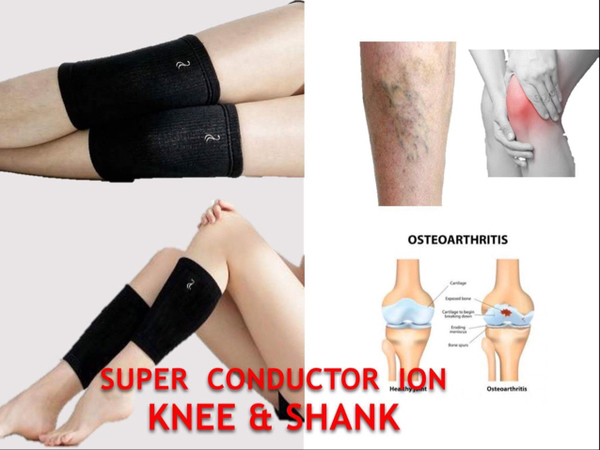 Used Leg Calf Support For Varicose Veins Made Of Silver And Copper That Help Blood Circulation #whatsapp00638832711 in Dubai, UAE