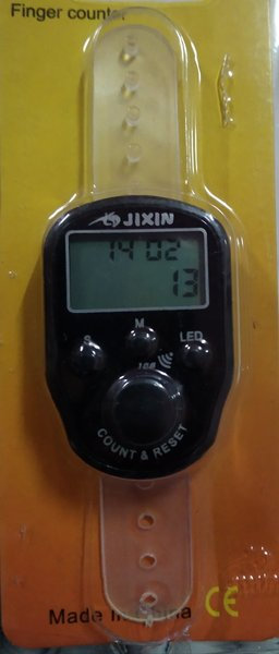 Used Finger counter with LED light and time in Dubai, UAE