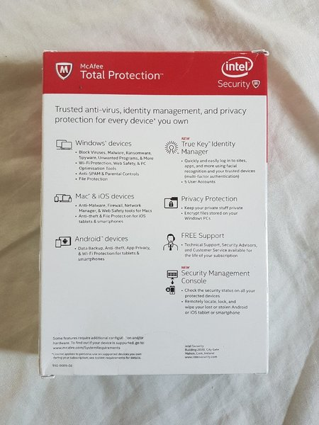 Used McAfee Total Protection in Dubai, UAE