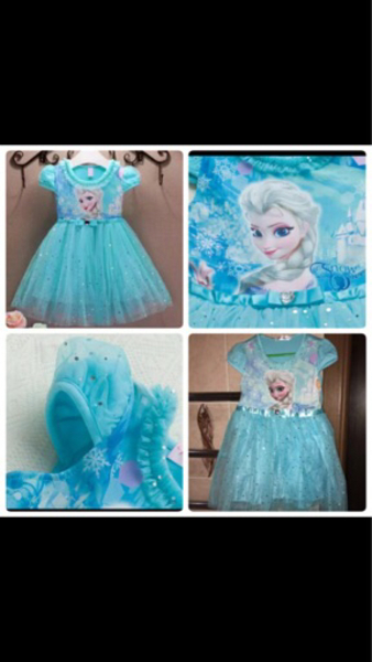 Used Brand new Frozen Dress in Dubai, UAE