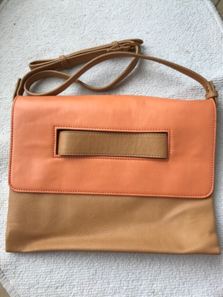 Used Charles and Keith leather sling bag in Dubai, UAE