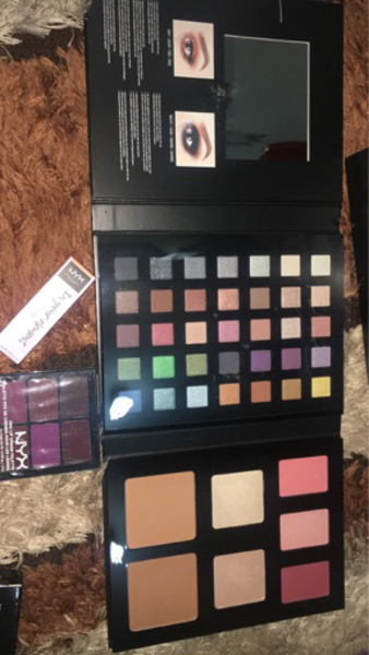 Used NYX original makeup in Dubai, UAE