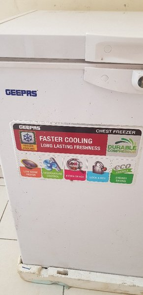 Used GEEPASS D- Freezer Used but Working in Dubai, UAE