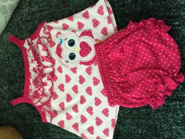 Brand new clothes for baby girl