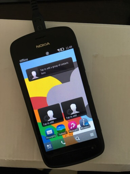 Used Nokia Pureview 808 smartphone in Dubai, UAE