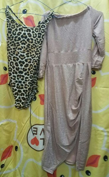 Used Two  dresses for women in Dubai, UAE