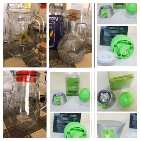 Used Bundle 3 jugs & massage air purifier in Dubai, UAE