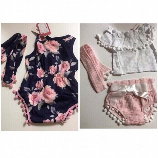 Used Girls clothes 6-9 months 💯 new in Dubai, UAE