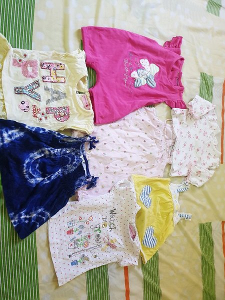 Used Bundle clothes/size 0 till 1 year old in Dubai, UAE