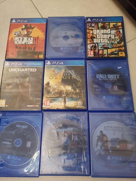 Used PS4 GAMES CHEAP in Dubai, UAE
