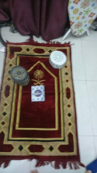 Used Prayer mat with free quran and more in Dubai, UAE