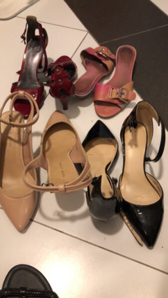 Used Very used Ladies Shoes in Dubai, UAE