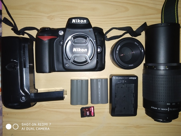 Used Nikon D90 with 50mm lens, xtra battery in Dubai, UAE