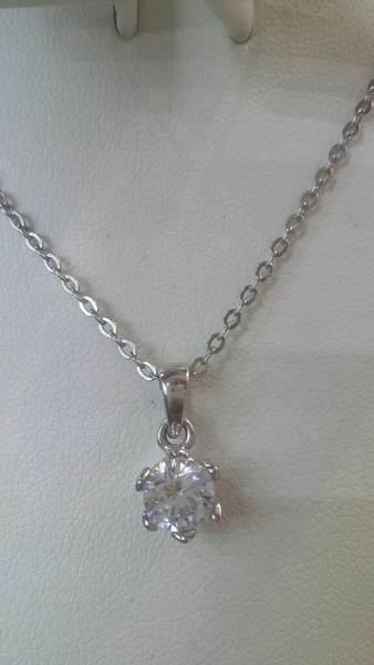 Used Italian sterling silver 925  pendent set in Dubai, UAE