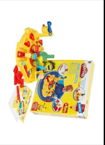 Used Play Dough MEGA SET. New in Dubai, UAE