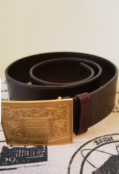 Used F E N D I   BROWN LEATHER BELT AUTHENTIC in Dubai, UAE