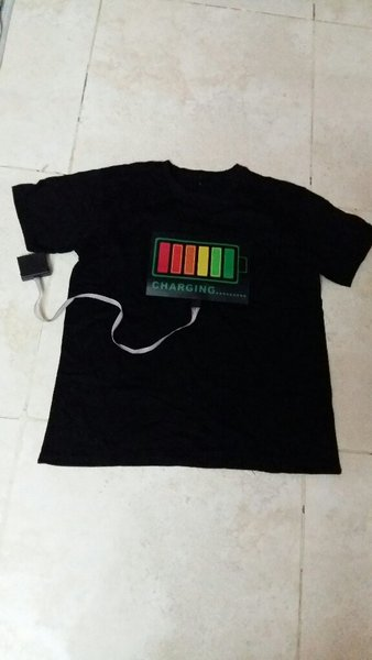 Used Led Light Volce -activated musicT shirt in Dubai, UAE