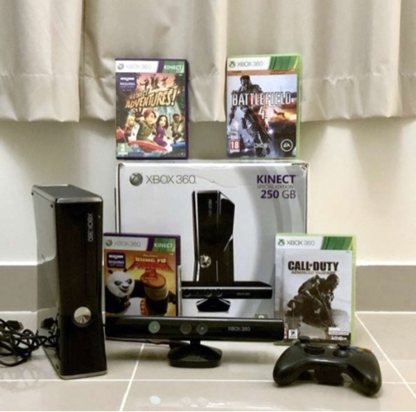 Used Xbox 360 special edition in Dubai, UAE
