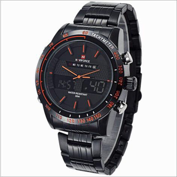 Used Navi force original watch with warranty  in Dubai, UAE
